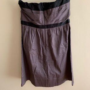 American Eagle Outfitters Dresses - American Eagle Mauve Strapless Dress EUC